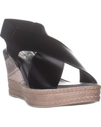 Bella Vita Bec-italy Slingback Wedge Sandals - Black