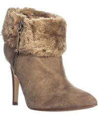 Marc Fisher - Cahoot Faux Fur Winter Fashion Ankle Boots - Lyst