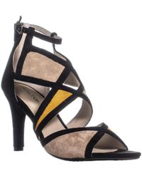 Rialto - Ria Strappy Dress Heel Sandals, Marigold Multi - Lyst