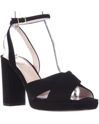 Kate Spade - Kate Spade Honey Ankle Strap Square Toe Dress Sandals - Lyst