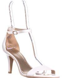 b400cdad15f Bandolino - Madia Ankle Strap Peep Toe Sandals - Lyst