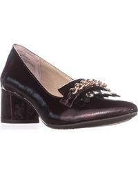 Rialto - Marshall Pointed Toe Loafer Heels - Lyst