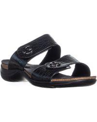 Easy Street - Dory Slide On Sandals - Lyst