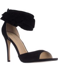 Ivanka Trump Herlle Ankle Strap Dress Sandals - Black