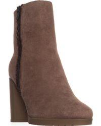 Tahari Elie Geneva Ankle Boots - Brown