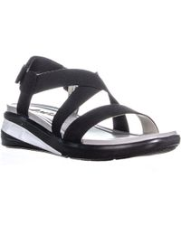 5a2f810ad3d Jambu - Jsport By Sunny Strappy Wedge Sandals - Lyst