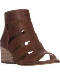 Lucky Brand - Sortia Caged Sandals - Lyst