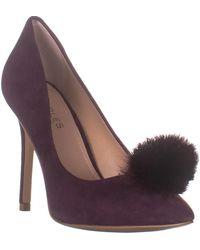 Charles David Pixie Classic Pump Heels - Purple
