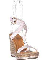 Madden Girl - Narla Espadrille Wedge Sandals - Lyst