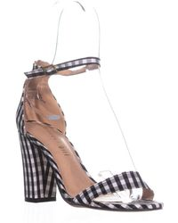 1d26895ddce Lyst - Madden Girl Beella Ankle Strap Dress Sandals in Pink