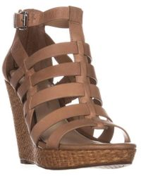 Jessica Simpson - Jeyne Strappy Wedge Sandals - Lyst