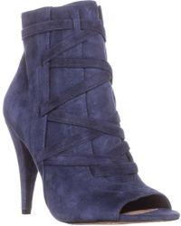Vince Camuto - Aranda Peep Toe Ankle Boots - Lyst