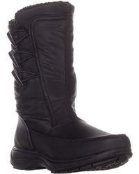 Sporto Dana Mid Calf Winter Boots - Black