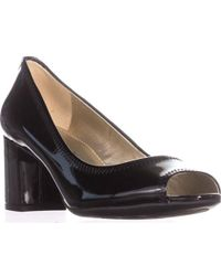 Anne Klein - Meredith Peep-toe Court Shoes - Lyst