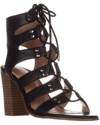 Madden Girl Nyles Gladiator Sandals - Black
