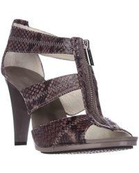 Michael Kors Michael Berkley T-strap Dress Sandals - Natural