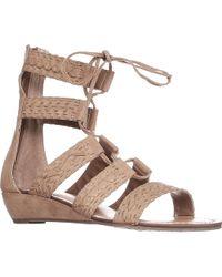 Carlos By Carlos Santana - Carlos Carlos Santana Kamilla Flat Lace-up Sandals - Lyst
