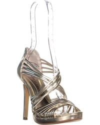Chinese Laundry - Imagine Strappy Sandals, Light Gold - Lyst