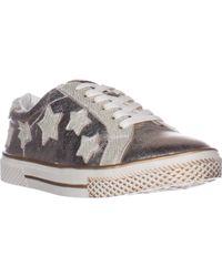 Bebe - Destine Lace Up Fashion Trainers - Lyst
