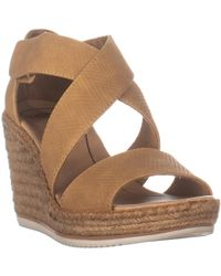 Dr. Scholls Vacay Espadrille Wedge Sandals - Natural