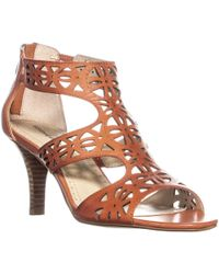 Adrienne Vittadini - Greece Strappy Sandals - Lyst
