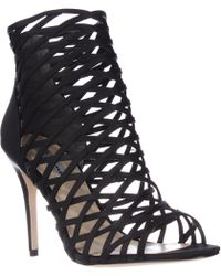 Nina - Cypress Caged Cutout Dress Sandals - Lyst