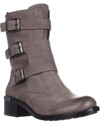 Vince Camuto - Watcher Mid Calf Motorcycle Boots - Lyst