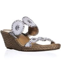 Jack Rogers - Shelby Wedge Sandals - Lyst