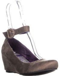 a0e01c71679 Chinese Laundry - Cl By Late Night Wedge Ankle Strap Heels - Lyst