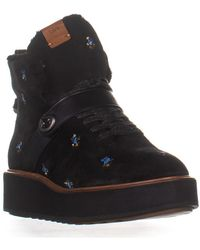 5eef28c184d35 COACH - Urban Hiker Wedge Laceless Ankle Boots - Lyst