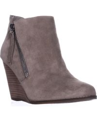 Jessica Simpson - Carnivela Wedge Ankle Boots - Lyst