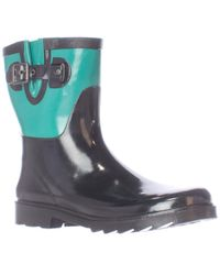 Chooka - Colour Block Mid Rain Boots - Lyst