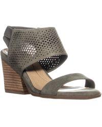 Dr. Scholls Dr. Scholls Jasmin Block Heel Perforated Sandals - Multicolour