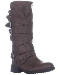 Report Huck Mid-calf Flat Boots - Multicolour