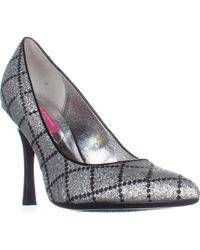 Isaac Mizrahi New York Issac Mizrahi New York Loretta2 Classic Court Shoes - Metallic