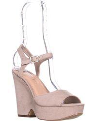Madden Girl - Cena Platform Wedge Sandals - Lyst