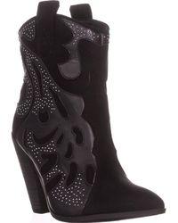 Carlos By Carlos Santana Sterling Cowboy Boots - Black