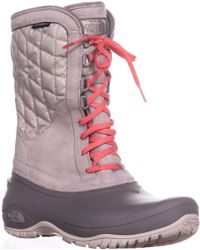 The North Face - Thermoball Utility Quilted Winter Boots - Lyst