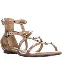 Esprit - Kiera Flat Studded Sandals - Lyst