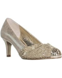 Adrianna Papell - Jude Peep Toe Court Shoes - Lyst
