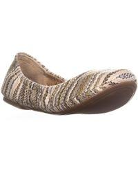 Lucky Brand - Emmie Round Toe Ballet Flats - Lyst