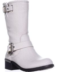 Vince Camuto - Windy Mid-calf Motorcycle Boots - Lyst
