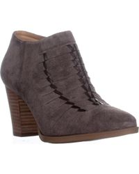 Franco Sarto - Dimona Stitched Ankle Boots - Lyst