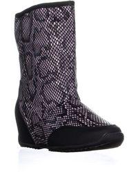 Sporto Sarah Mid Calf Boots - Multicolour