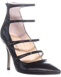 Ivanka Trump Dritz Strappy Court Shoes - Black