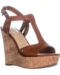 Marc Fisher - Helma Platform Wedge Sandals - Lyst
