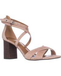 COACH Phoebe Strappy Block Heel Sandals - Multicolour