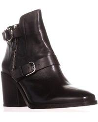 Pour La Victoire Wilson Buckle-strap Ankle Booties - Black