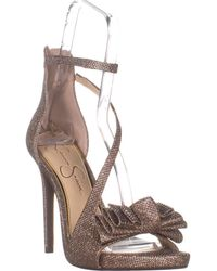Jessica Simpson - Remyia 2 Ankle Strap Heeled Sandals - Lyst