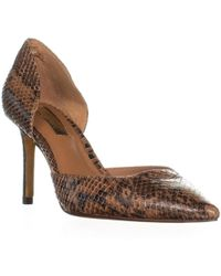 Lauren by Ralph Lauren - Kacey Pointed Toe Dress Court Shoes, Luggage - Lyst